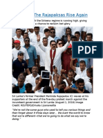 Sri Lanka The Rajapaksas Rise Again.docx