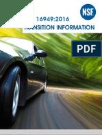 ISO IATF 16949 2016 Information