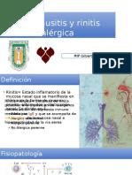 Rinosinusitis y Rinitis Alergica