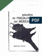 Estudios de La Psicología Del Mexicano