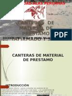 Ppt- Canteras de Material de Prestamo (Afirmado y Sub Base)