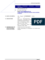 Tarun Das CV for PFM Specialist