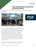 2016 11 08 - El Pais - Argentina promete bajar drásticamente el precio de los ordenadores, los más caros de América