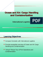 Guest Ocean and Air Cargo Handling and Containerization ROBERT FRANKEL Intern. Logist.