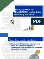 Dfnf Costos de Los Servicios y Productos Entrega # 1