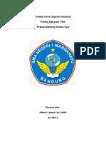 Analisis Novel Sejarah Indonesia