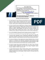 Tarun Das CV for Poverty-Inequality Analysis