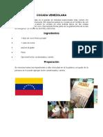 Cocada Venezuelana