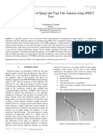Comparative Analysis of Quagi and Yagi-Uda Antenna using 4NEC2 Tool