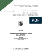 7 Maglev PE Cost Estimation Report