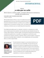 Berta Cáceres_ La Vida Que No Calla _ Internacional _ EL PAÍS