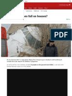 How Often Do Planes Fall on Houses