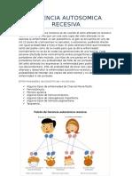 Herencia Autosomica y Cromosoma x
