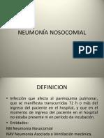 Neumonía Nosocomial. MI 1