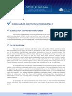 Globalization changing World Order.pdf