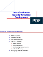 Introduction to QFD