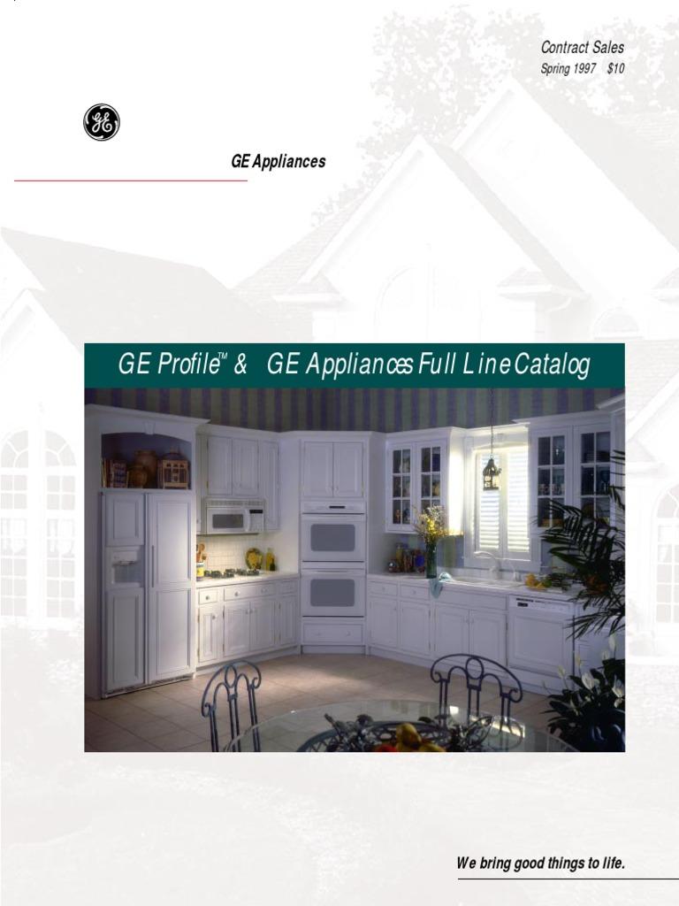 Ge 1997 refridgrators refrigerator washing machine fandeluxe Images