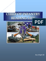 Chief of Infantry Reading List a Pr 09