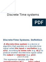 Lecture 5 Discrete Time Systems New