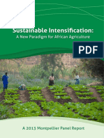 Montpellier Panel Report 2013 - Sustainable Intensification - A New Paradigm for African Agriculture.pdf