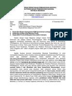 Surat Penawaran Beasiswa Bappenas Gelombang II 2017