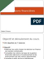 Decisions Financières M2finance