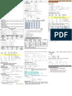 Sheet  untuk ujian Analisis Statistika