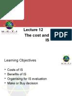 Lec12_TheCost&BenefitsOfIS