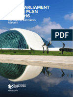 Open Parliament Action Plan 2015-2016 Second Monitoring Report
