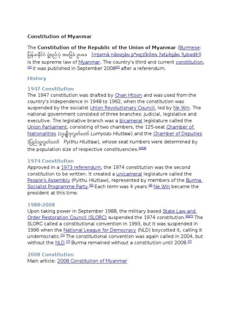 1973 Burmese constitutional referendum