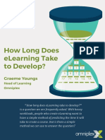 How Long Does ELearning Take to Develop eBook-1
