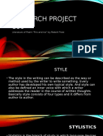 Research Project (Fire & Ice)