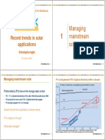 PV System Installation Price and Tariff Trend (Singapore 2015)