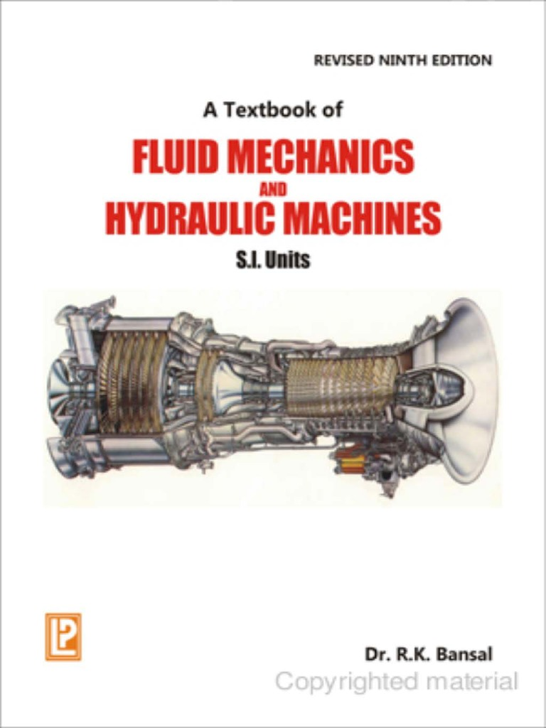 Rk bansal a textbook of fluid mechanics and hydraulic machines 9th rk bansal a textbook of fluid mechanics and hydraulic machines 9th revised edition si units chp1 11 laxmi publications 2010pdf fandeluxe Image collections
