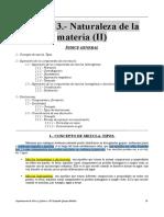 Apuntes Del Tema 3 (Naturaleza de La Materia II)