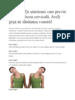 8 Exerciții Uimitoare Care Previn Osteocondroza Cervicală