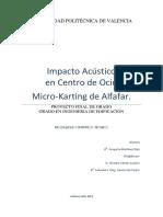 Impacto Acustico Micro-karting