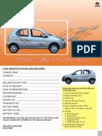 TATA Indica Owners Manual & Servie Book