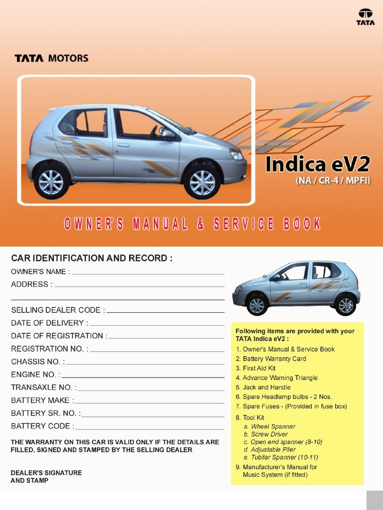 tata indica owners manual servie book fuel injection diesel fuel rh scribd com ford lynx service manual pdf ford lynx service manual pdf