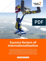 TOP Success Factors for Internationalization