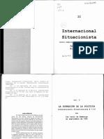 Internacional Situacionista 2.Vol.