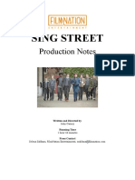SING STREET Production Notes