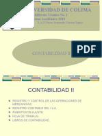 CONTABILIDAD II (Hoja de Trabajo)