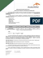 Belgo 50 Soldável - Produto e Processo