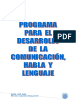 Programa Intervencion Comunicación