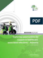 Raportul experților ECDC privind infecțiile din spitalele românești