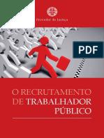O Recrutamento Do Trabalhador Publico