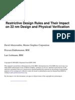 Restrictive Design Rules PDF