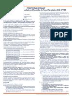 Prospectul Schemei de Pensii Facultative ING OPTIM Detaliat