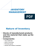 12). Inventory Management